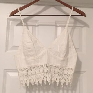NEW! Forever 21 - Boho Crop Top
